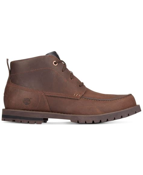 brown chukka boots timberland s baluster chukka boots in brown for