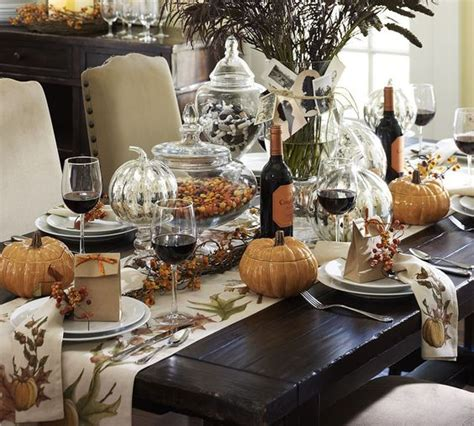 dinner table decor 27 cozy and eye catching thanksgiving table settings