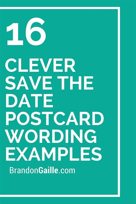 wedding save the date sayings 16 clever save the date postcard wording exles