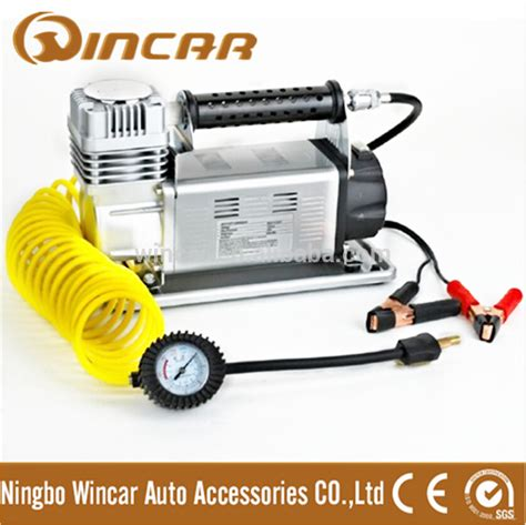 Mini Heavy Duty Air Compressor With 150 Psi Black T3010 2 150psi max pression mini air compresseur 12 v heavy duty