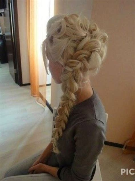 Elsa Hairstyles by Frozen Elsa S Hair Style Hair