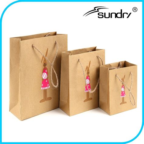 Discount Paper Crafts - wholesale craft kraft paper bag green travel paper bag
