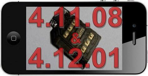 R Sim 11 Unlock Ios All Iphone 4 4g 5s 6s 6g 7 7s r sim 4 released to unlock baseband 4 11 08 4 12 01