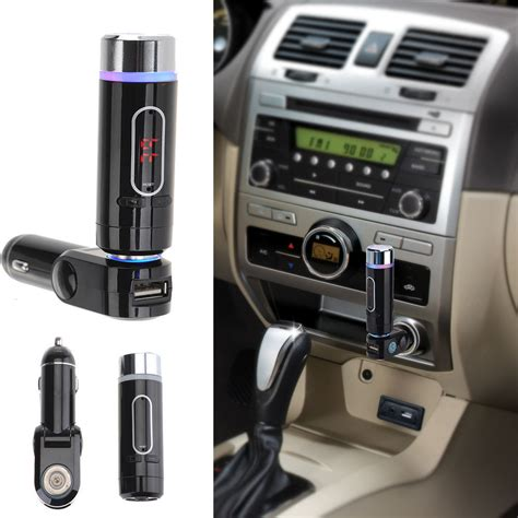 Car Bluetooth Mp3 Player Fm Transmitter A2dp a2dp wireless car fm transmitter bluetooth receiver calling mp3 player built in