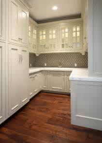 arabesque tile transitional kitchen markay johnson