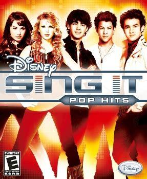 Sing It disney sing it pop hits