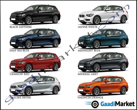 bmw colors 1 series colours bmw colour options bmw