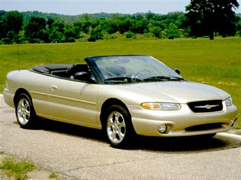 Chrysler 1999 Models by 1999 Chrysler Sebring Overview Cars
