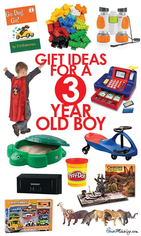 Toys for a 3 year old boy   House Mix