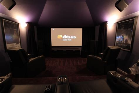 finished purple room home theater forum