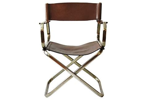 Leather Directors Chair by Arrben Of Italy Leather Director S Chair