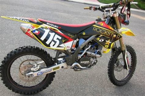 2005 Suzuki 250 Dirt Bike Buy 2005 Suzuki Rmz250 Factory Race Dirt Bike On 2040 Motos