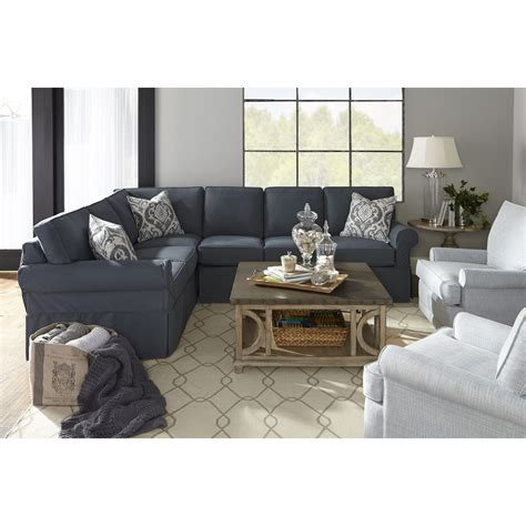 rowe masquerade sectional rowe masquerade c396 sect casual style sectional sofa
