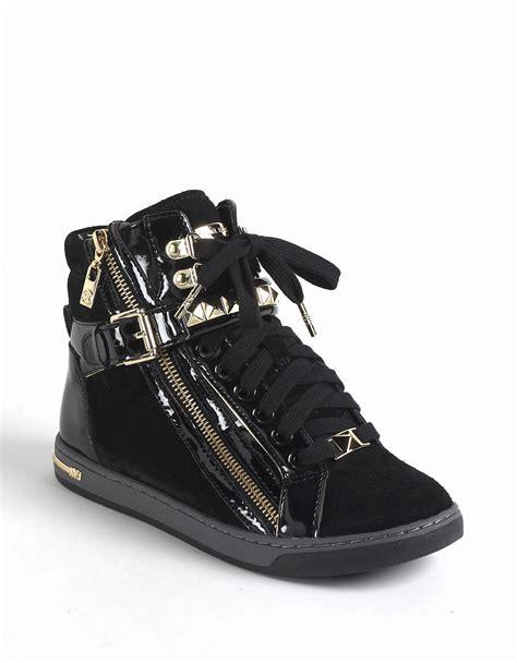 studded high top sneakers michael michael kors glam studded suede high top sneakers