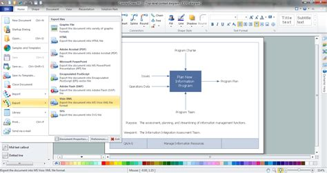 visio document idef0 visio