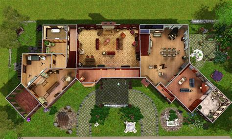 Coolhouseplan Com mod the sims glenridge hall the mansion from tv series