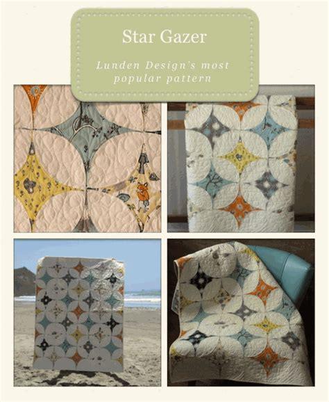 Stargazer Quilt Pattern by Lunden Designs Sewing Pattern Gazer Quilt