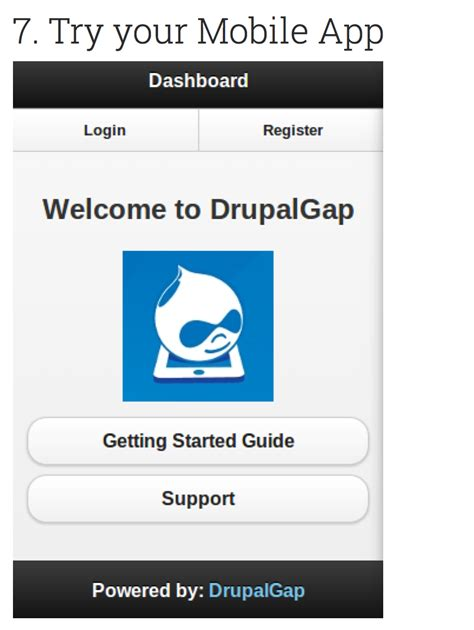 android ios restful application design pattern stack drupalgap compile for android and ios doesnt load tabs