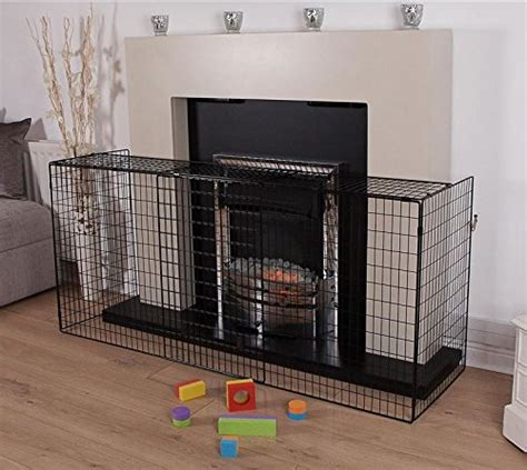 Fireplace Protection Barriers by Fireplace Safety Guard Child Pet Barrier Child Kid Infant Extendable Ebay