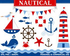 Nautical Buy 1 Get 1 Free Digital Nautical Clip Art By Thecreativemill
