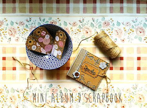 tutorial inicio scrapbooking tutorial scrapbook un mini 192 lbum molt mini handbox