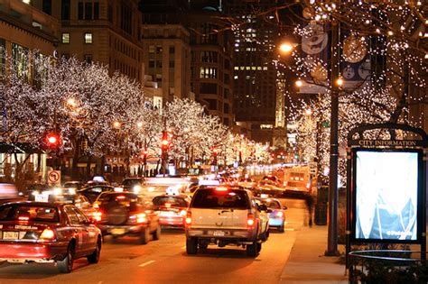 michigan avenue christmas lights flickr photo sharing