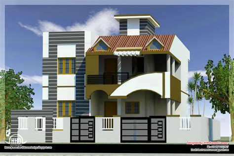 in front house design modern house front side design india elevation design 3d