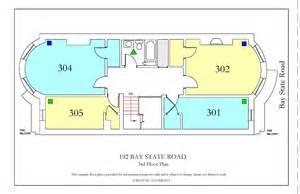 Bu Housing Floor Plans 192 Bay State Road 187 Housing Boston University