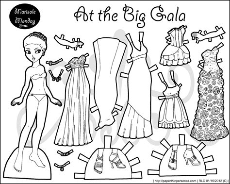 printable paper dolls black and white 9 best images of black and white printable paper dolls