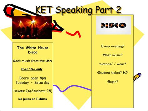 ket test ket speaking р 2 presentation