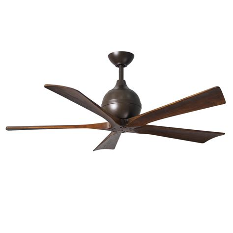 shop matthews irene 52 in textured bronze indoor outdoor