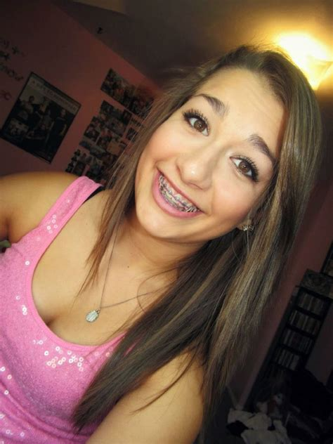 tumblr very young little daphne pretty girl with braces by girls with braces we heart it