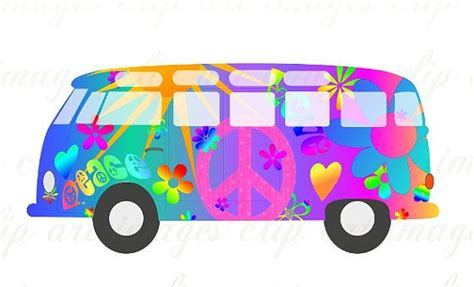 volkswagen hippie van clipart magic bus clip art royalty free no credit required like