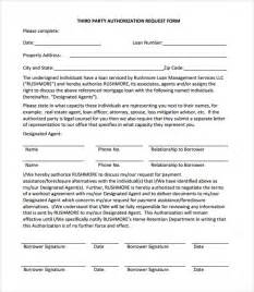 sample third party authorization letter 8 free