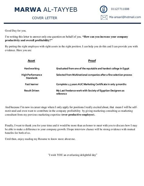 resume cover letter learner