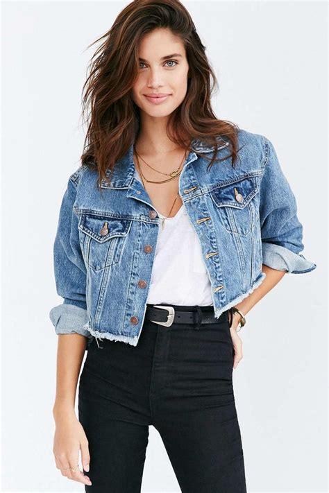 Cropped Jacket cropped denim jacket a stylish wear