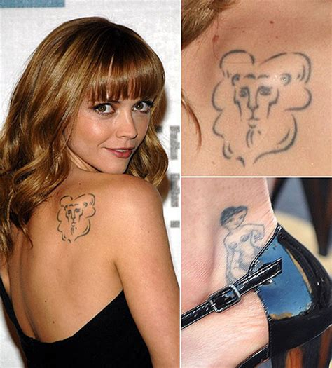100 s christina ricci tattoo design ideas picture gallery