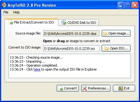 dvd format exe free daa to iso converter convert daa to iso