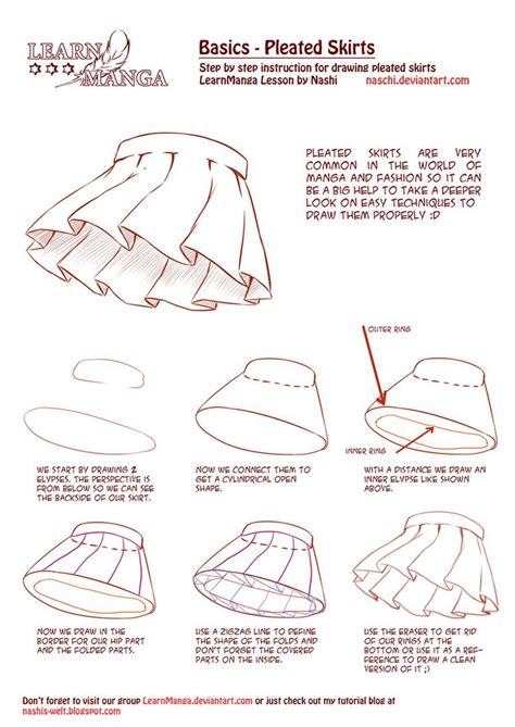free doodle lessons learn basics pleated skirts how to drawing tools