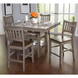 simple living simon counter height 5 piece dining set lynfield 5 piece dining set finish espresso dining room sets