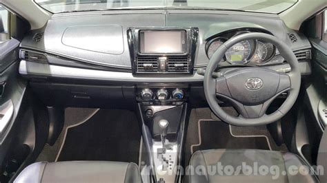 Dashboard Toyota Vios New toyota vios dashboard at the 2015 thailand motor expo