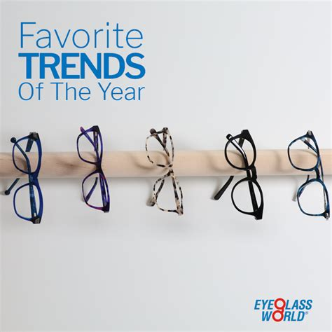 eyeglass world favorite trends of the year