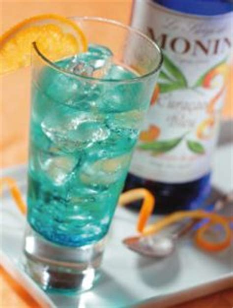 Monin Blue Curacao 700 Ml Cafe Coffee Original Syrup monin blue curacao syrup