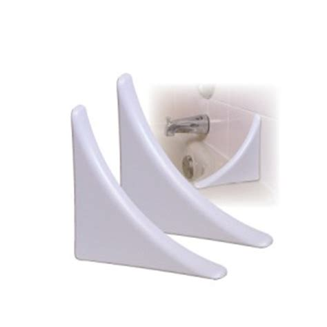Bathtub Corner Splash Guard taymor bathtub splash guards 02 dp9625 pack of 2 white bathroom shower water ebay