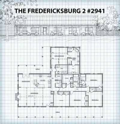 hill country floor plans the fredericksburg ii plans