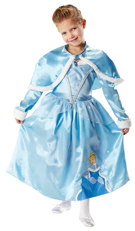 Princess Cape Cinderella disney princess winter fancy dress