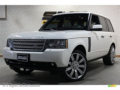 land rover hse white 2010 land rover range rover hse in alaska white 316426