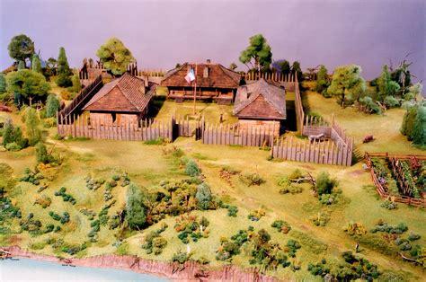 arkansas post museum diorama scale models unlimited