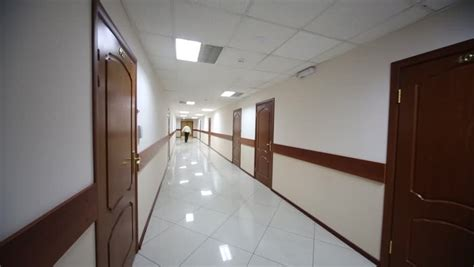 hotel bureau d馭inition scary hotel hallway traveling high definition stock