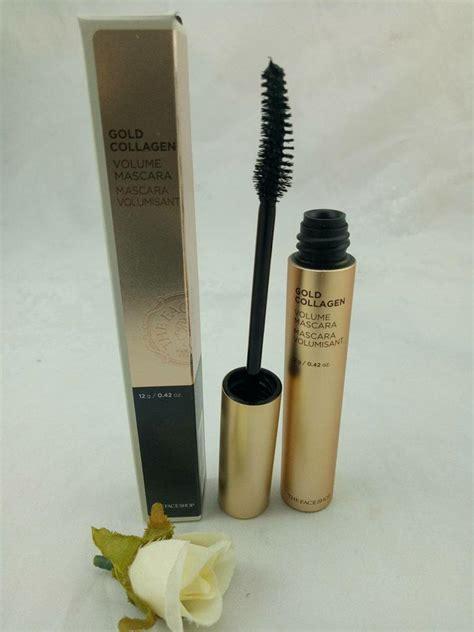 Mascara The Shop chuốt mi mascara the shop gold collagen